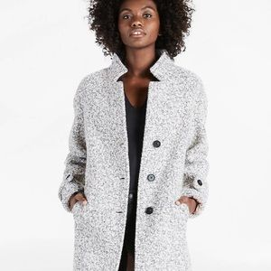 Lucky Brand boiled wool coat